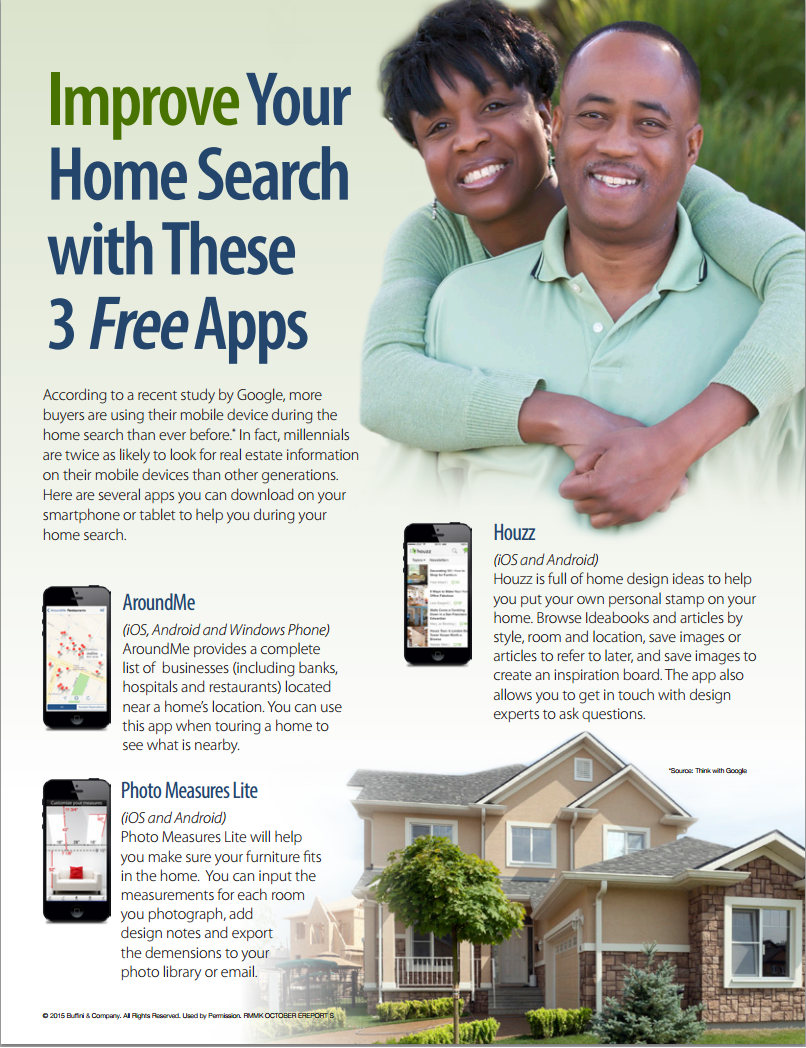 Improve your home search with these 3 free apps dunn for Free home search