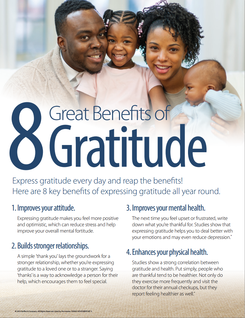 The Benefits of Gratitude | Minneapolis Real Estate | Dunn ...
