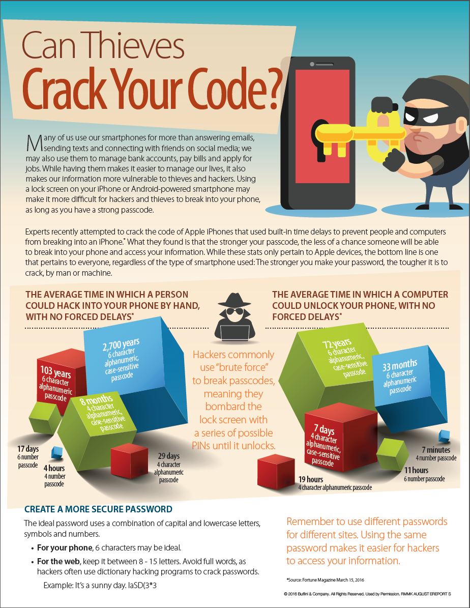 Can Thieves Crack Your Code