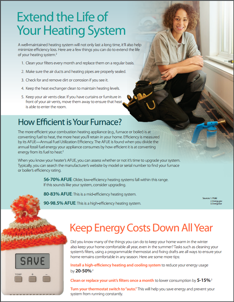 Extending the life of your heating system